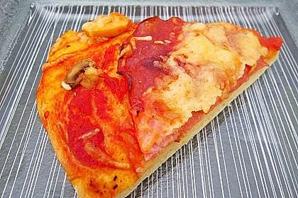 Superknuspriger Pizzateig 19