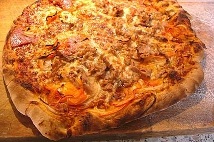 Superknuspriger Pizzateig 18