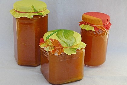 Kürbis - Apfel - Marmelade