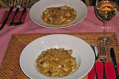 Lamm - Bulgur mit Rosinen - Zwiebeln 4