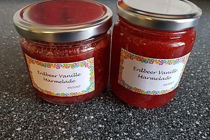 Vanille - Erdbeer - Marmelade 11