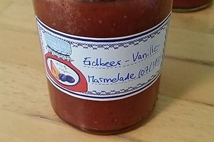 Vanille - Erdbeer - Marmelade 8