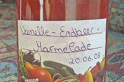 Vanille - Erdbeer - Marmelade 36