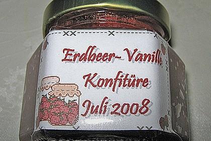 Vanille - Erdbeer - Marmelade 50