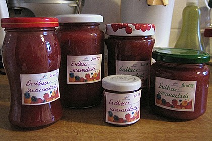 Vanille - Erdbeer - Marmelade 34