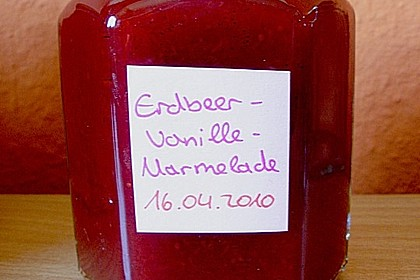 Vanille - Erdbeer - Marmelade 22