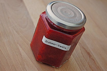 Vanille - Erdbeer - Marmelade 9