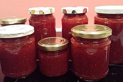 Vanille - Erdbeer - Marmelade 21