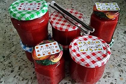 Vanille - Erdbeer - Marmelade 13