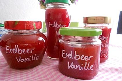 Vanille - Erdbeer - Marmelade 6
