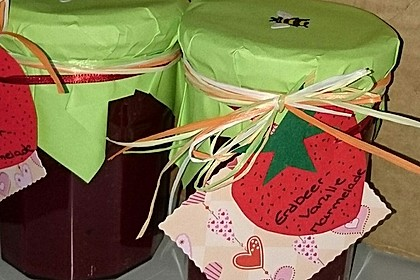 Vanille - Erdbeer - Marmelade 5