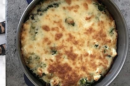 Brokkoli - Feta - Pie 1