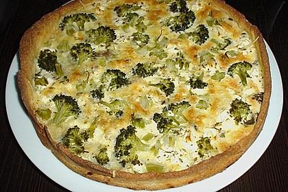 Brokkoli - Feta - Pie 7