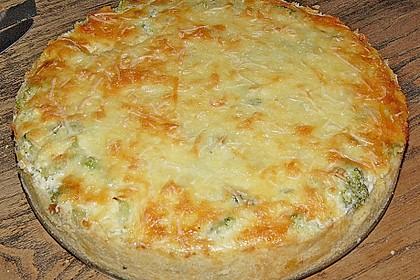 Brokkoli - Feta - Pie 11