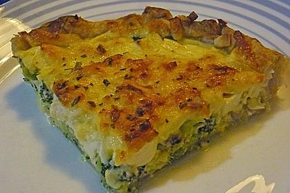 Brokkoli - Feta - Pie 2