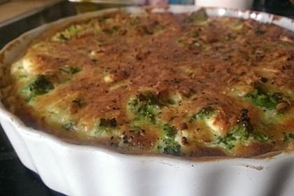 Brokkoli - Feta - Pie 16