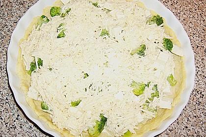Brokkoli - Feta - Pie 23