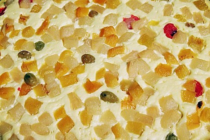 Quarkkuchen vom Blech mit Früchten 16