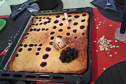 Quarkkuchen vom Blech mit Früchten 14