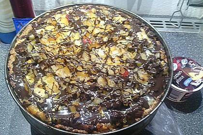 Quarkkuchen vom Blech mit Früchten 17