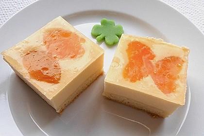 Quarkkuchen vom Blech mit Früchten