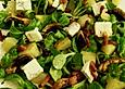 Birnen - Feldsalat mit Bacon und Gorgonzola