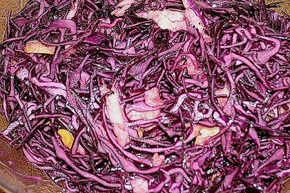 Rotkohl - Salat 7