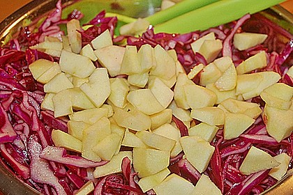 Rotkohl - Salat 3