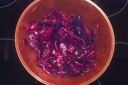 Rotkohl - Salat 8