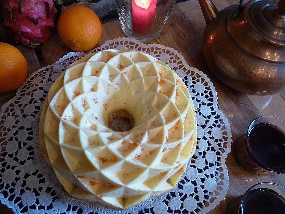 mandarinen schmand pudding kuchen von calisandra. Black Bedroom Furniture Sets. Home Design Ideas