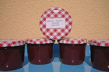 Pflaumen - Amaretto - Marmelade 4