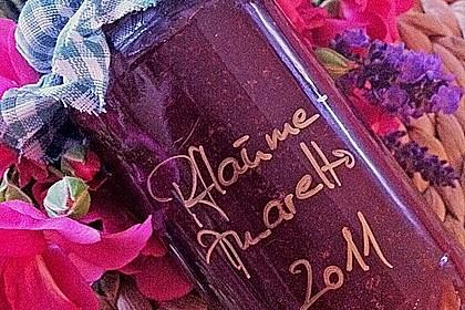 Pflaumen - Amaretto - Marmelade