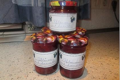 Pflaumen - Amaretto - Marmelade 15