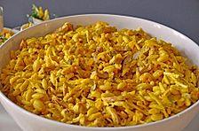 Pikanter Curry - Nudelsalat