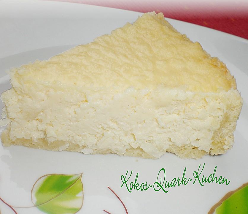 Apfel kokos quark kuchen