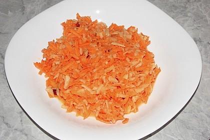 Apfel - Möhren Salat 6