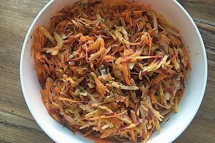 Apfel - Möhren Salat