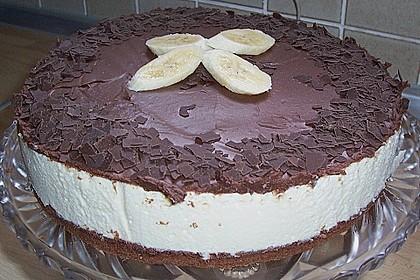 Bananen - Schokolade - Torte 8