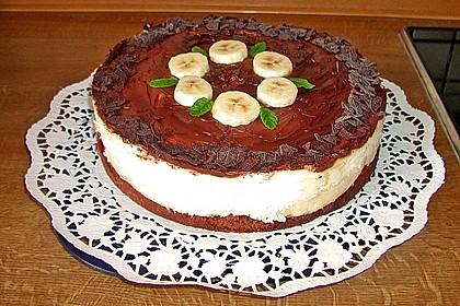 Bananen - Schokolade - Torte 4