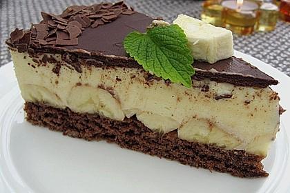 Bananen - Schokolade - Torte 2