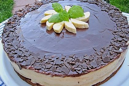 Bananen - Schokolade - Torte 1