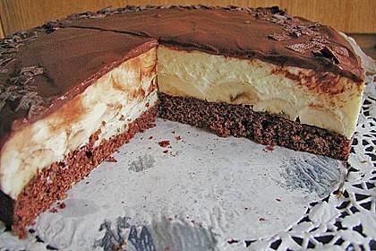 Bananen - Schokolade - Torte 7