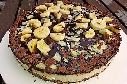 Bananen - Schokolade - Torte 3