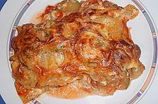 Lasagne mit Räucherfisch