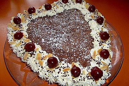 Kirsch - Schoko - Kuchen 0