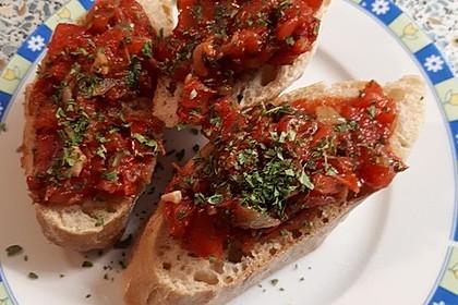 Bruschetta mit Tomaten und Knoblauch 47