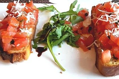 Bruschetta mit Tomaten und Knoblauch 55