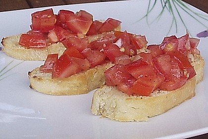 Bruschetta mit Tomaten und Knoblauch 45