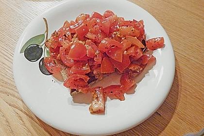 Bruschetta mit Tomaten und Knoblauch 43
