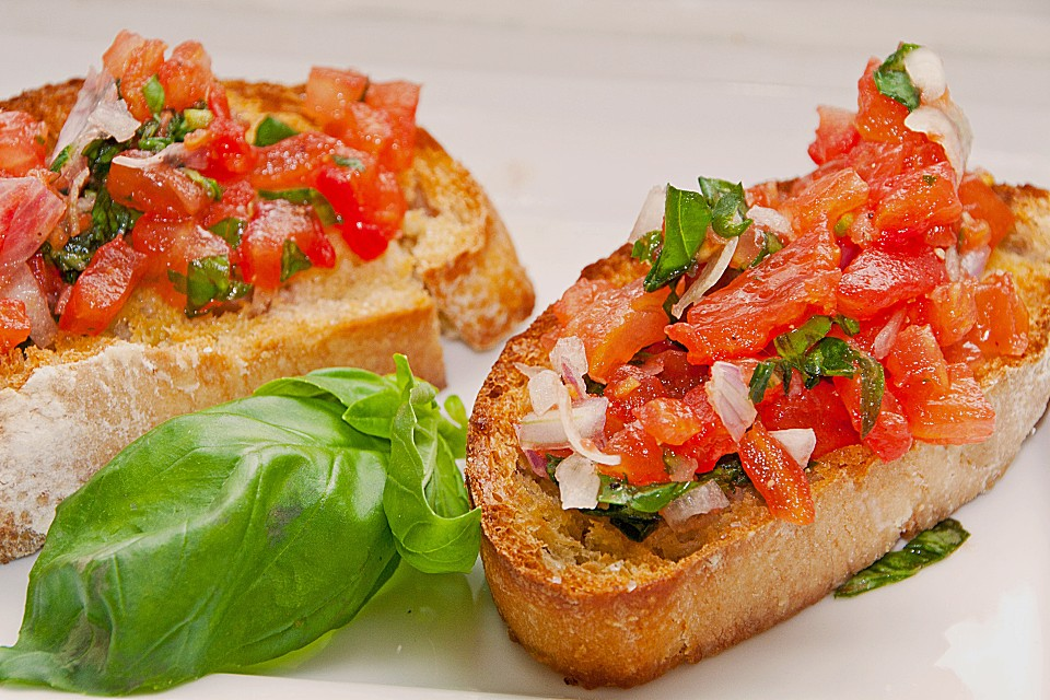 bruschetta recipe dishmaps. Black Bedroom Furniture Sets. Home Design Ideas